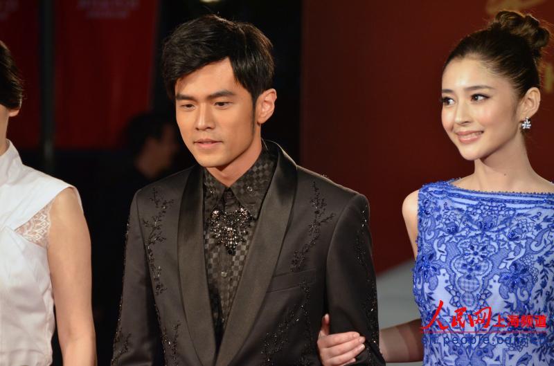 第十六届上海国际电影节 众多明星亮相开幕式