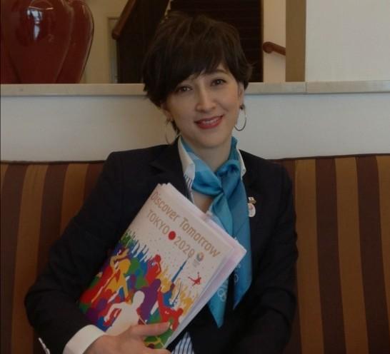 东京申奥美女代表走红 被曝不雅视频引争议