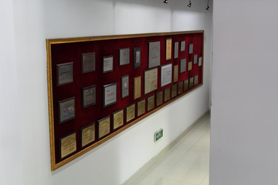 荣誉墙 荣誉证书照片墙 学校荣誉墙3d效果图