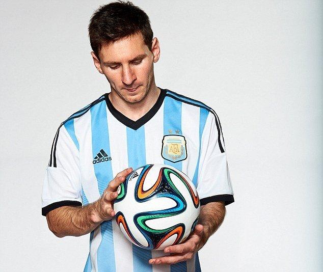 2014世界杯官方用球公布