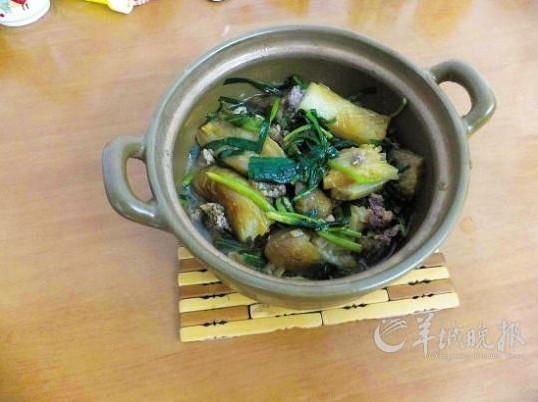 美食diy:创意茄子煲(图)