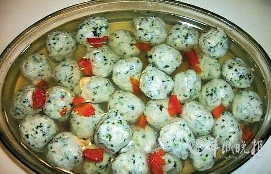 美食DIY:荠菜肉丸(图)