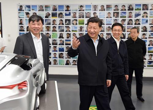 习近平:上海的今天好,上海的明天会更好!