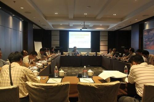 2014年中国钢结构协会钢管分会秘书长工作会议在上海