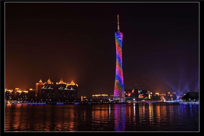 广州新电视塔,昵称小蛮腰