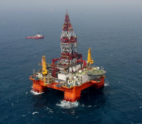 """""""海洋石油981""""平台"""