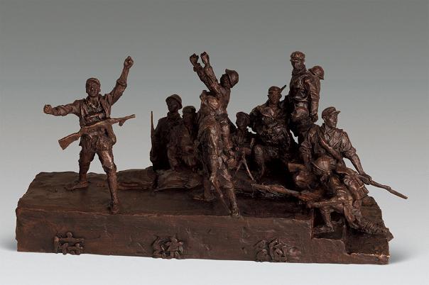 上海油画雕塑院建院50周年专题雕塑展开幕