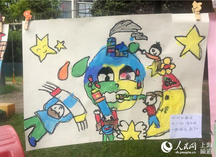 环保的铅笔画-珍爱地球 保护环境 幼儿绘画征集大赛结果揭晓