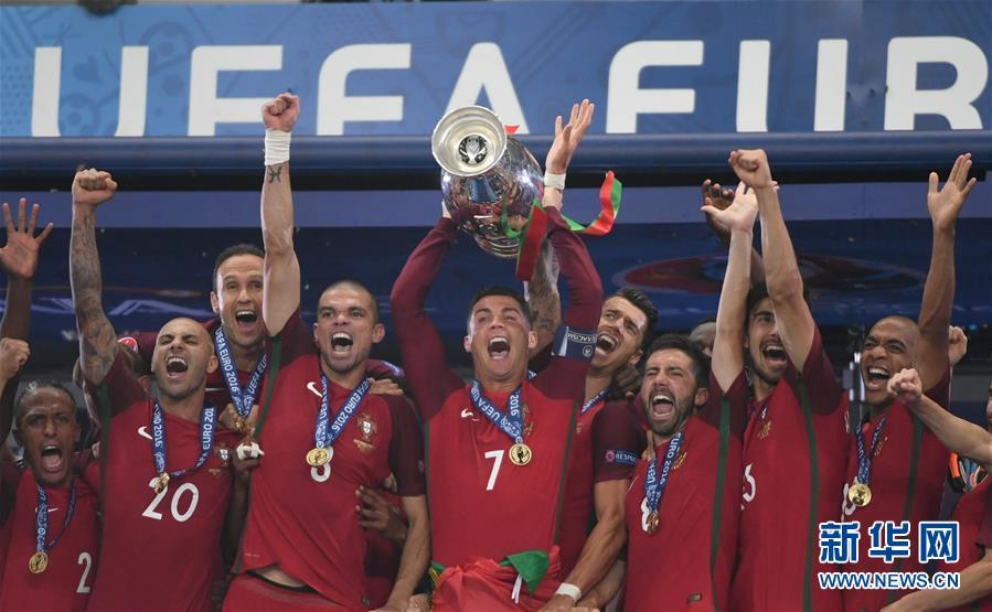2016年欧洲足球锦标赛:葡萄牙队首次夺冠