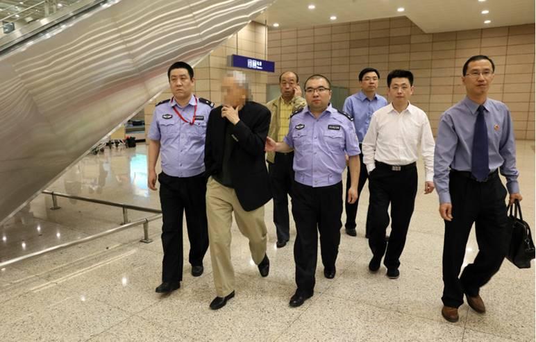 """上海检察机关""""天网""""行动追回在逃人员16名(图)"""