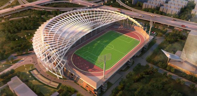 """上海建立首个避难层健身室        避难层试点健身室、体育场配备屋顶标准体育场、水冷塔楼层改造成楼宇""""空中运动场""""。"""