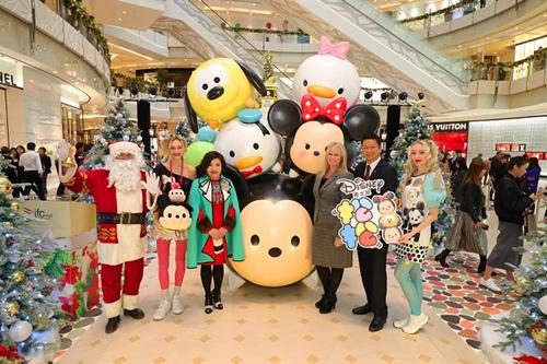 迪士尼tsum tsum圣诞闪耀上海ifc商场