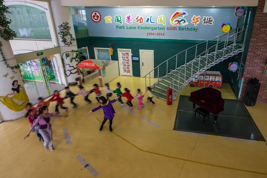 徐州是的实验幼儿园大三班小朋友童话剧张汉盛那个班