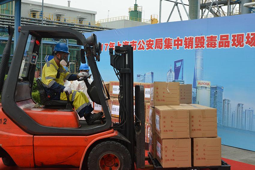 上海集中销毁各类毒品785.3公斤(图)【3】