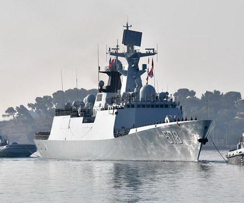 海军第二十六批护航编队访法