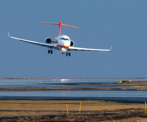 ARJ21完成冰岛大侧风试飞