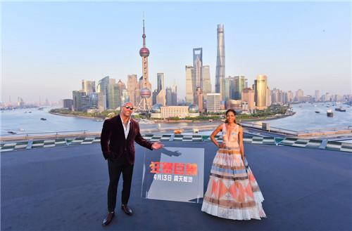 《狂暴巨兽》中国首映礼上海开启
