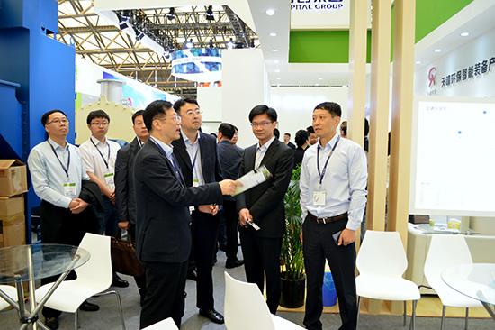 第十九届环博会在沪举办 环保产业助推乡村建设