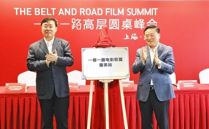 """上海浦东打造国际影视产业园 首推电影全产业链""""组合拳"""""""