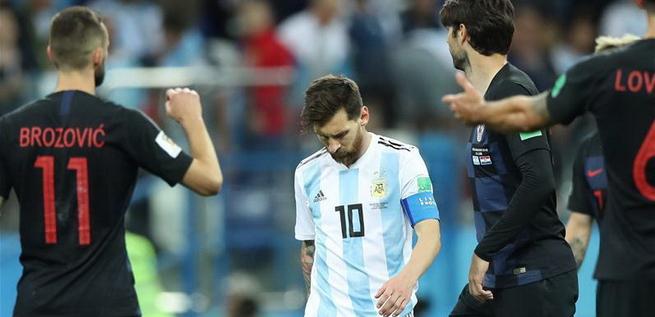 阿根廷惨败命悬一线 法国克罗地亚提前晋级