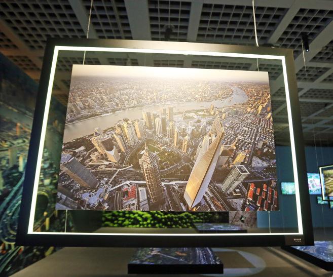 """换一种视角发现上海 """"城市色彩""""主题系列展览开幕"""