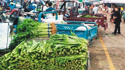 佳节临近,蔬菜等食材价格有何变化?