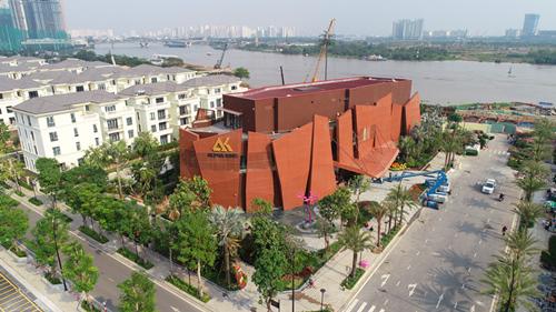 首战告捷,上海分公司海外交付第一座单体工程