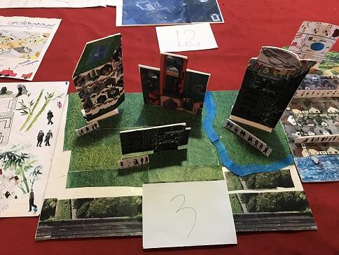 在东方绿洲体验设计活动,拼贴城市设计