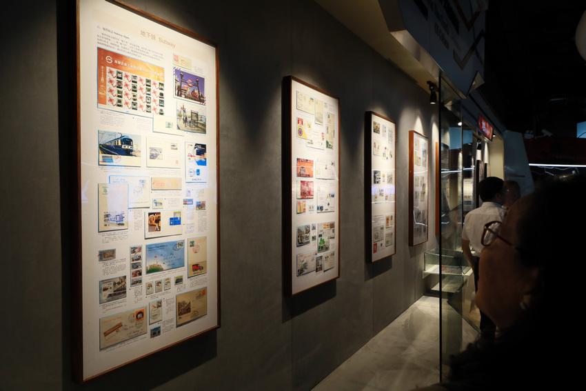 """全国首个""""地铁-隧道""""专题收藏邮品展览在上海开幕【6】"""