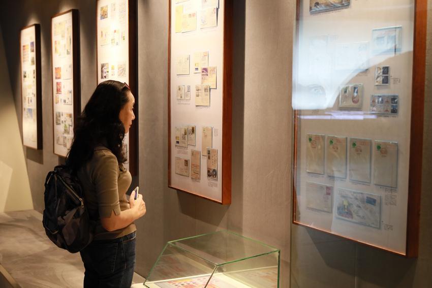 """全国首个""""地铁-隧道""""专题收藏邮品展览在上海开幕【5】"""