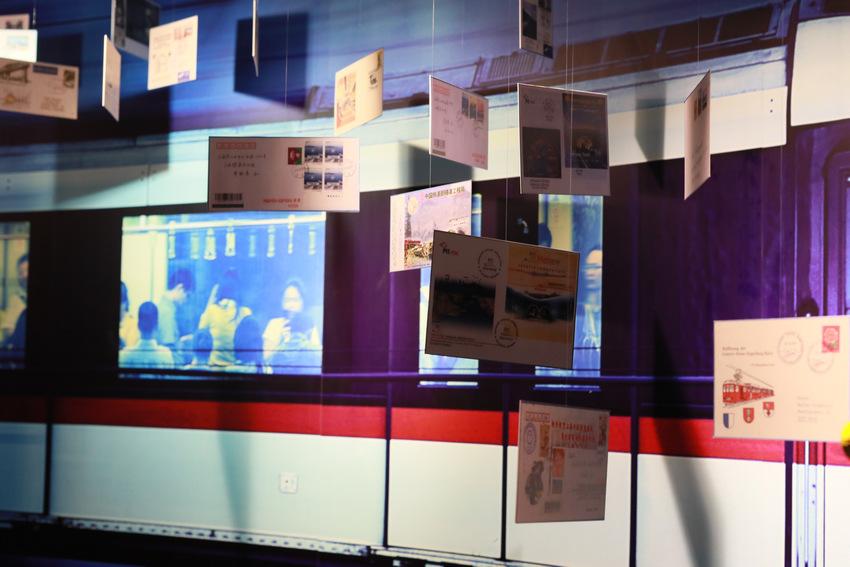 """全国首个""""地铁-隧道""""专题收藏邮品展览在上海开幕【2】"""