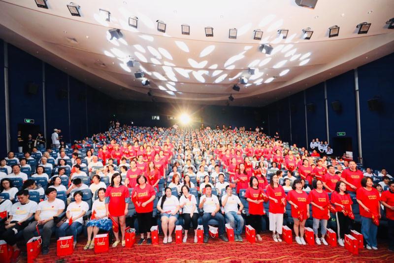 不忘初心新华路街道举办红歌会庆祝新中国成立70周年