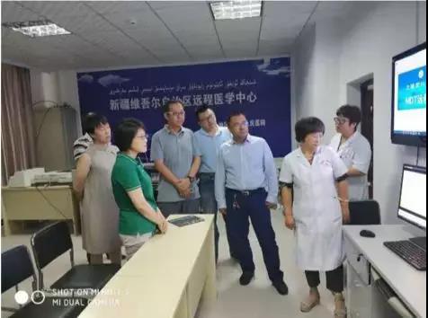 上海市卫生健康委党组副书记郑锦赴泽普观察慰问
