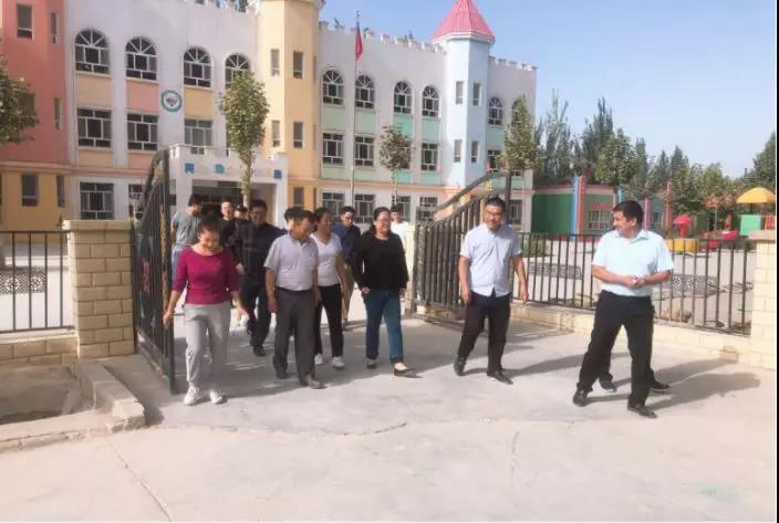 闵行区马桥镇代表团赴泽普县阿依库勒乡开展结对帮扶工作