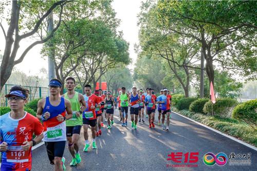 厦门大学EMBA戈15上海崇明岛拉练举行