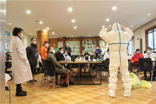 普陀区疾病预防控制中心驰援武汉队员张亮启程
