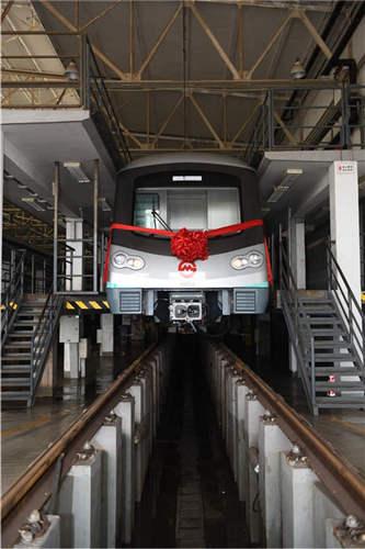 上海地铁第6000辆列车将驶向临港新片区
