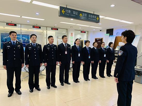 浦东警方开展出入境条线实战大练兵