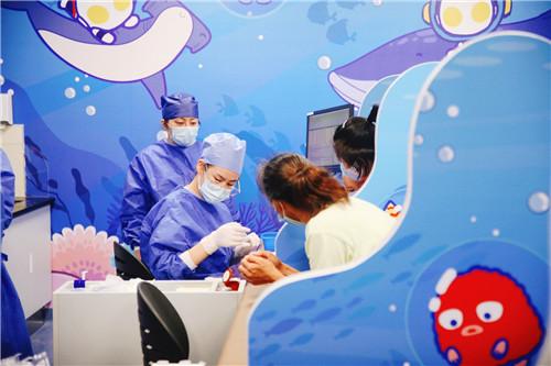 新华医院儿科综合楼门急诊7月31日试运行