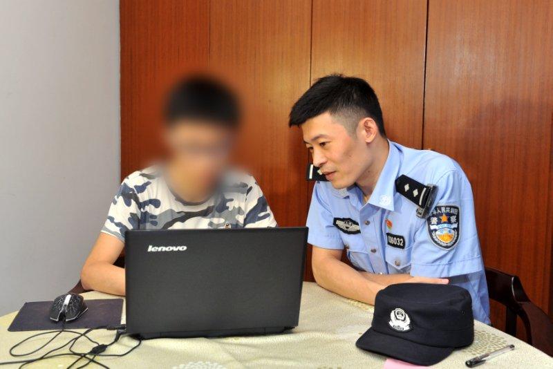 一线综合执法民警家访40余次帮网瘾少年重获新生
