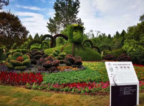 2020第二屆上海森林綠雕園藝展開幕