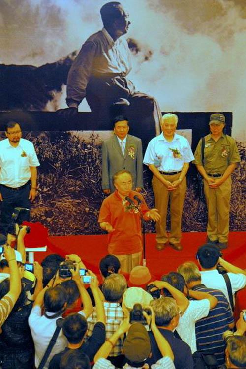 吕厚民摄影作品展《我镜头中的伟人毛泽东》在沪开幕