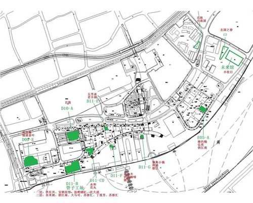 世博园区餐饮地图