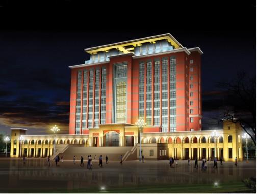 渤海大学校园景观图片大全 景观 北大门 渤海大学校图片